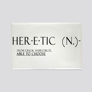 'Heretic' Rectangle Magnet