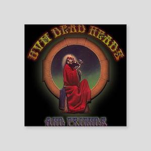 """UVM DEADHEADS & FRIENDS Square Sticker 3"""" x 3"""""""