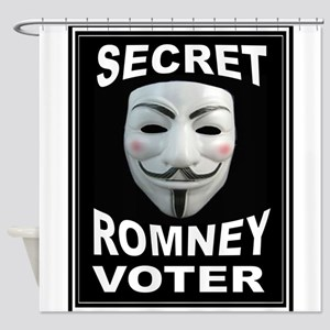 ANONYMOUS VOTER Shower Curtain