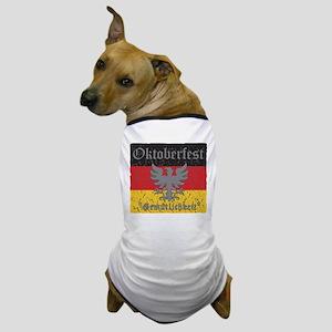 Oktoberfest Gemutlichkeit Dog T-Shirt