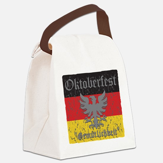 Oktoberfest Gemutlichkeit Canvas Lunch Bag