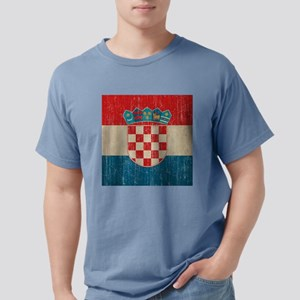 Vintage Croatia Mens Comfort Colors Shirt