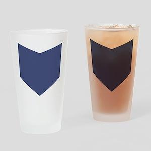 Hawkeye Marvel Shirt Drinking Glass