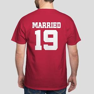 Anniversary Married Since 1968 Dark T-Shirt