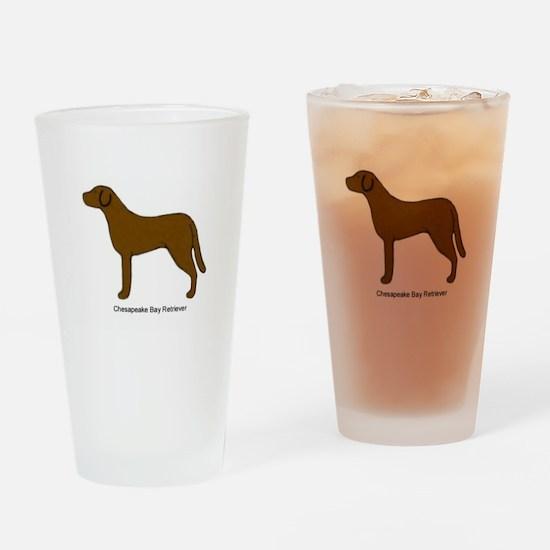 Chessie Drinking Glass