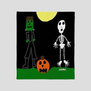 Halloween Haunters Throw Blanket