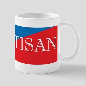 Bipartisan Two Color Sticker Mug