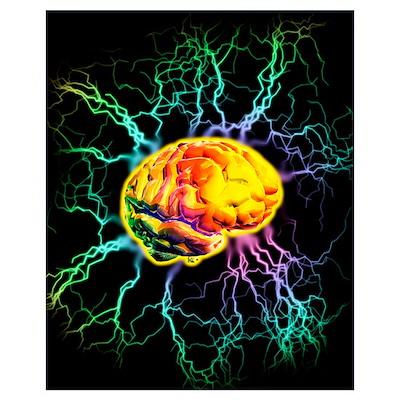 Brain activity Poster