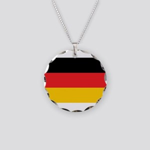 German Tricolor Flag in Black Red and Yellow Neckl