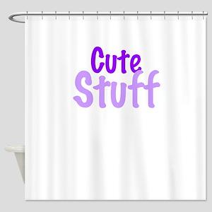 Cute Stuff Shower Curtain