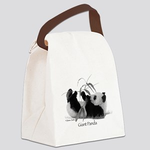 Giant Panda Canvas Lunch Bag