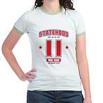 Statehood New York Jr. Ringer T-Shirt