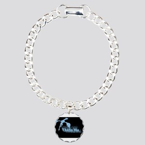 Theta Nu Dragon Charm Bracelet, One Charm
