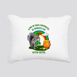 Squirrel St. Patrick's Day Rectangular Canvas Pill