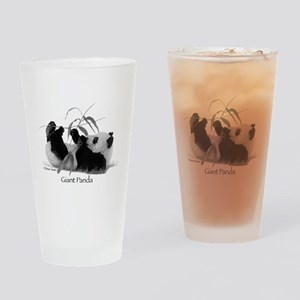 Giant Panda Drinking Glass