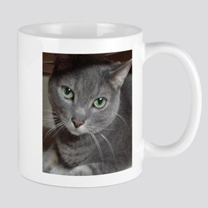 Gray Cat Russian Blue Mug