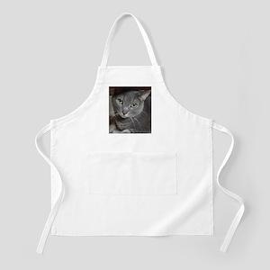 Gray Cat Russian Blue Apron