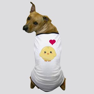 Cute Chick and Heart Dog T-Shirt