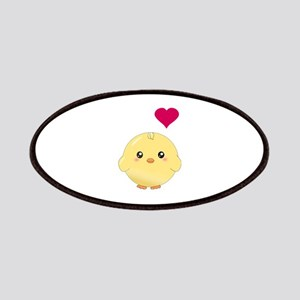 Cute Chick and Heart Patches