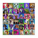 Pop Art Pet Tile Coaster