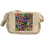 Pop Art Pet Messenger Bag