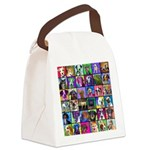 Pop Art Pet Canvas Lunch Bag