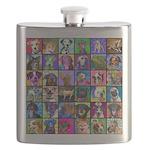 Pop Art Pet Flask