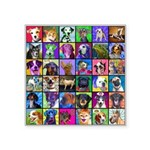 Pop Art Pet Square Sticker 3