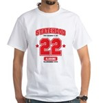 Statehood Alabama White T-Shirt