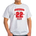 Statehood Alabama Ash Grey T-Shirt
