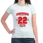 Statehood Alabama Jr. Ringer T-Shirt