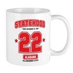 Statehood Alabama Mug