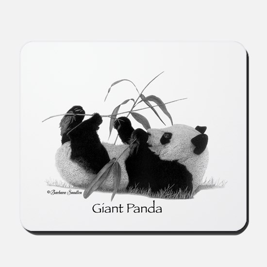 Giant Panda Mousepad