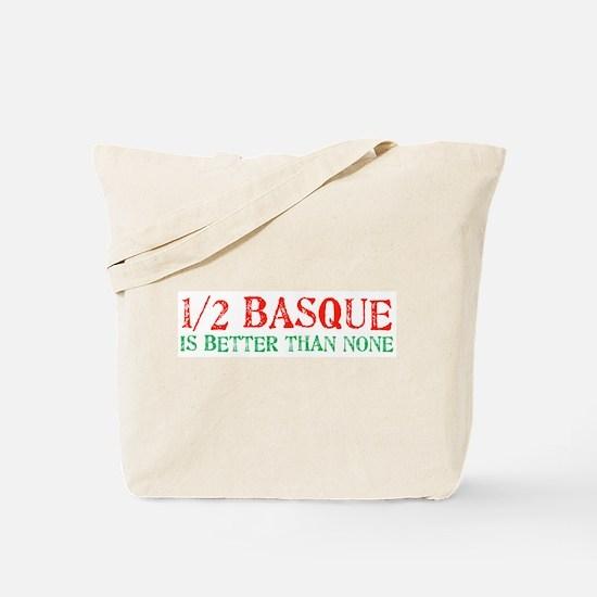 Half Basque Tote Bag