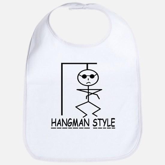 HANGMAN STYLE Bib