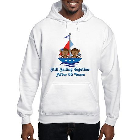 35th Anniversary Sailing Hooded Sweatshirt