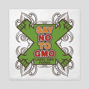 Say No to GMO Queen Duvet