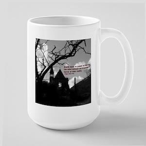 The reality of words Large Mug