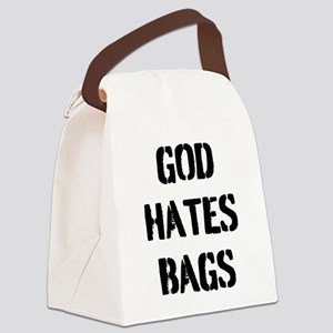 God Loves Canvas Lunch Bags