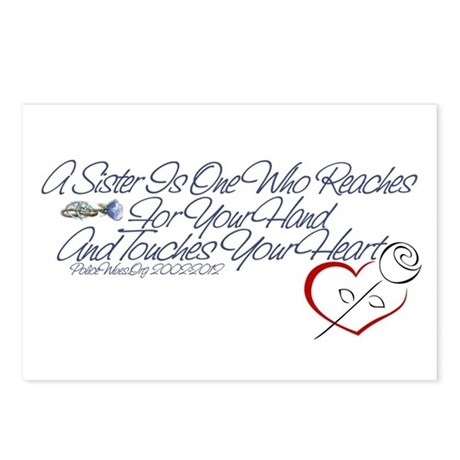 PoliceWives 2012 Postcards (Package of 8)