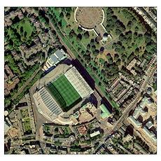 Chelsea's Stamford Bridge stadium, aerial Poster