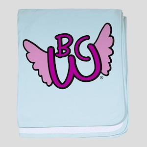 Winged BCW Logo baby blanket