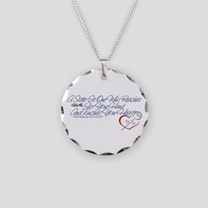 PoliceWives 2012 Necklace Circle Charm