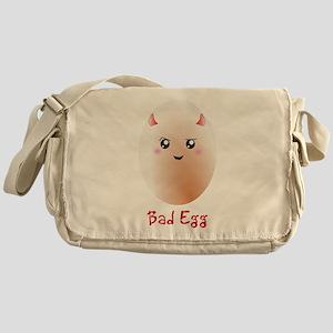 Funny Bad Egg Messenger Bag