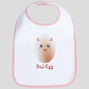 Funny Bad Egg Bib