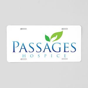 Passages Hospice Logo Aluminum License Plate