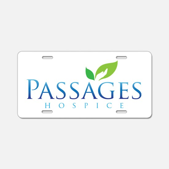 Passages Hospice Logo Aluminum License Plate