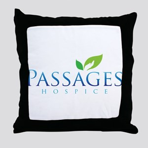 Passages Hospice Logo Throw Pillow