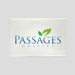 Passages Hospice Logo Rectangle Magnet