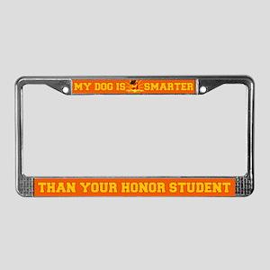 Akita License Plate Frame